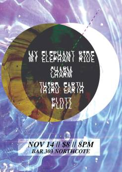 Headline gig, bar 303, 14th Nov 2014