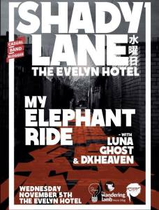 Shady Lane, MER Headline, 5th Nov, 2014