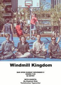 Windmill kingdom support gig, 9th Nov 2014